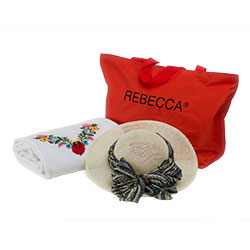 Rebecca Swimwear beach bag